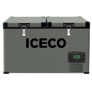 IceCo Compact Portable 2.11 cu.ft. Frost-Free Chest Freezer